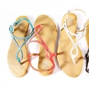 Carrini Women's Embellished Thong Sandals