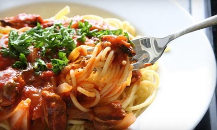 Luigi's Italian Restaurant - Newton: Italian Cuisine for Two or Four at Luigi's Italian Restaurant (Up to 55% Off)