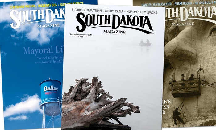 South Dakota Magazine: One- or Two-Year <i>South Dakota Magazine</i> Gift Subscription (Up to Half Off)