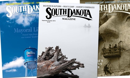 One- or Two-Year South Dakota Magazine Gift Subscription (Up to Half Off)