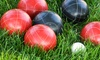Turbo Bocce - Sharkey's Bar & Grill : Five-Week Bocce League on Tuesday or Wednesday Nights at Turbo Bocce (70% Off)