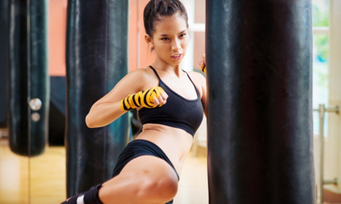 Impact MMA Fitness - Impact Strong Fitness: One Month of Unlimited Group Kickboxing Classes or 10 Group Bootcamp Classes at Impact MMA Fitness (Up to 67% Off)