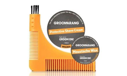 Kit Groomarang per barba e capelli