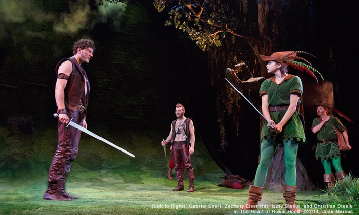 """The Heart of Robin Hood"" - Royal Alexandra: ""The Heart of Robin Hood"" at Royal Alexandra Theatre on January 30–February 20 (Up to 54% Off)"