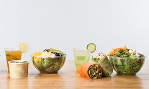 City Greens: Fresh, Fast Farm to Fork Food at City Greens at Elmwood (Up to 53% Off). Two Options Available.