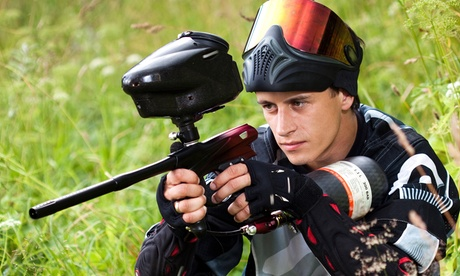 All-Day Session with Equipment and 250 Paintballs Each for Two or Four at AG Pai...