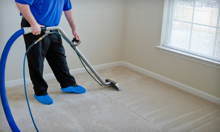 Totally Clean - Milwaukee: Three Rooms of Carpet Cleaning or Upholstery Cleaning of a Chair and Sofa from Totally Clean (Up to 53% Off)