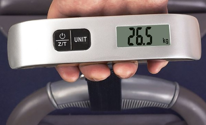 Digital Luggage Weighing Scale from AED 39 (Up to 78% Off)