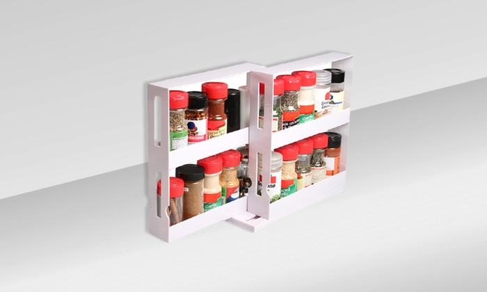 2 Deluxe Swivel Store Spice Organizers: 2 Deluxe Swivel Store Spice Organizers. Free Returns.