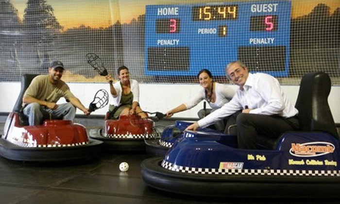 Joe Dumars' Fieldhouse - Shelby Township: $99 for Whirlyball Outing for 15 with Pizza & Drinks at Joe Dumars' Fieldhouse in Shelby Township (up to $219.85 Value)