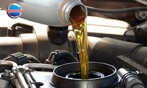 Speedy Grasse: Forfait entretien d'huile semi-synthétique, synthétique ou spécifique dès 45 € chez Speedy Grasse