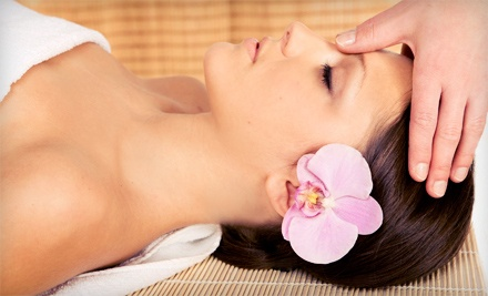 60- or 80-Minute Massage and Facial Spa Package at The Hideaway Spa (Up to 53% Off)