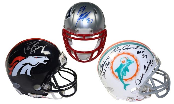 NFL Signed Mini Helmet