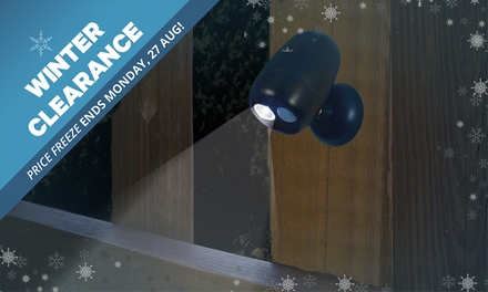 WINTER CLEARANCE: Wireless LED Motion Sensor Light: One $12.95, Two $22.95 or Four $39.95