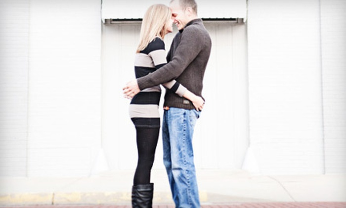 """Della Terra Photo - Fort Wayne: $69 for Engagement Photo-Shoot Package with Disk of Images and One 8""""x10"""" Print from Della Terra Photo ($185 Value)"""