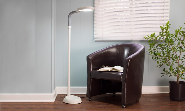 ... Trademark Home Sunlight Floor Lamps: $34.99 For A Trademark Home Sunlight  Floor Lamp In Silver ...