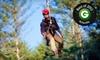 The Beanstalk Journey - Morganton: $59 for a Zipline Canopy Tour for Two at The Beanstalk Journey at Catawba Meadows in Morganton (Up to $118 Value)