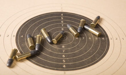 Pistol- or Rifle-Shooting Package or a Simulator Session for Two at Georgia Gun Club (Up to 61% Off)