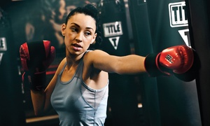 TITLE Boxing Club: $19 for Two Weeks of Boxing and Kickboxing Classes with Hand Wraps at TITLE Boxing Club ($46.49 Value)