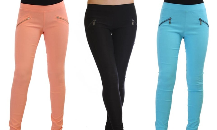 Colored Fashion Stretch Pants: $19.99 for Colored Fashion Stretch Pants ($69.99 List Price). Multiple Colors Available. Free Shipping and Returns.