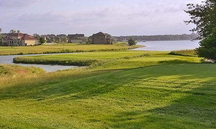 18-Hole Round with Cart and Range Balls at The Golf Club at Creekmoor (Up to 51% Off). Two Options Available.