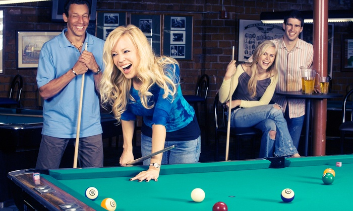 South First Billiards - Downtown San Jose: Billiards, Bar Food, and Drinks for Two or Four, or Two Hours of Billiards at South First Billiards (Up to 60% Off)