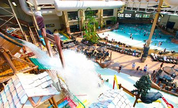 Water-Park Resort near Smoky Mountains with $50 Arcade Voucher