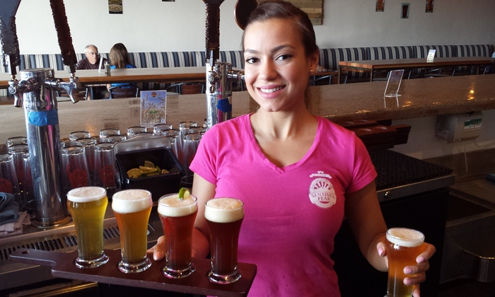 Sentinel Peak Brewing Company - Ward 6: Beer Flights and Appetizers for Two or Four at Sentinel Peak Brewing Company (Up to 48% Off)