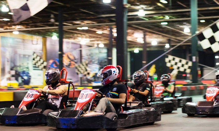 Xtreme Action Park - Xtreme Action Park: Annual Membership, a Rookie Race Shareable Six Pack, or a 20-Lap Race for 10 Drivers at XBK Zone (Up to 42% Off)
