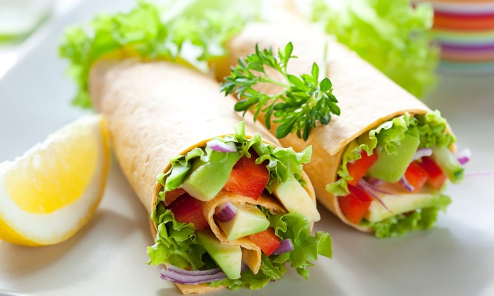 Great Wraps - Center City West: $9 for Three Groupons, Each Good for One Famous Wrap at Great Wraps ($17.97 Total Value)