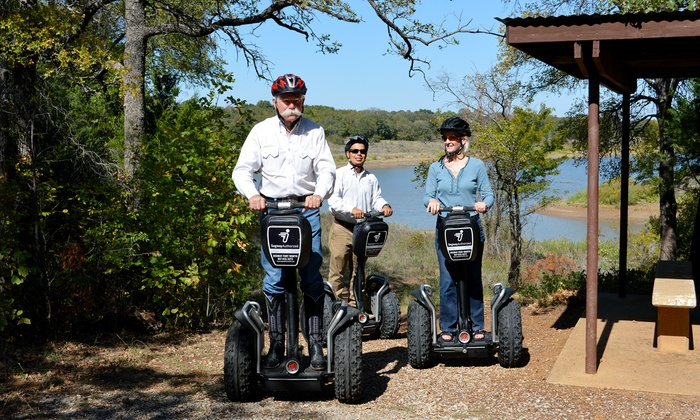 Segway Grapevine - Meadowmere: Lake Grapevine Off-Road Segway Tour for One, Two, or Four from Segway Grapevine (Up to 56% Off)