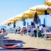 Ingresso spiaggia, brunch e canoa
