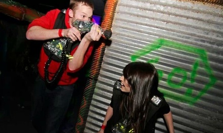 Two Games of Laser Tag for Two or Four at Laser Kingdom (Up to 50% Off)