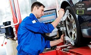 Mara-Car Centro Automotivo: Alinhamento, higienização de ar-condicionado, revisão da suspensão e rolamento no Mara-Car Centro Automotivo – Centro