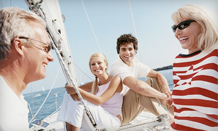 Northern Breezes Sailing School - Multiple Locations: Two-Hour Semi-Private Sailboat Trip for Two or Private Trip for Four from Northern Breezes Sailing School (50% Off)
