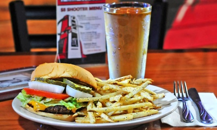 Pub Food and Drinks for Two, Four, or More at The Pump House (40% Off). Two Options Available.