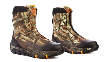 Rocky Men's Camouflage Athletic Mobility Maxprotect Level 3 Boot with Lace or Zipper Front.