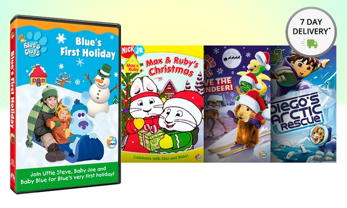 Nick Jr. 4-Disc Holiday DVD Set: Nick Jr. 4-Disc Holiday DVD Set. Free Returns.