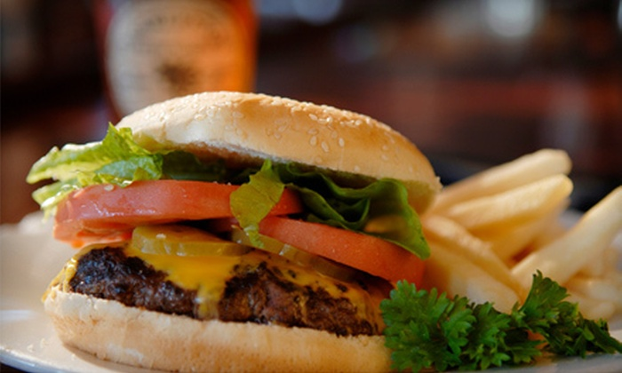 Big Louie's Bar and Grill - Multiple Locations: $10 for $20 Worth of American Fare and Drinks at Big Louie's Bar and Grill in Crystal or New Brighton