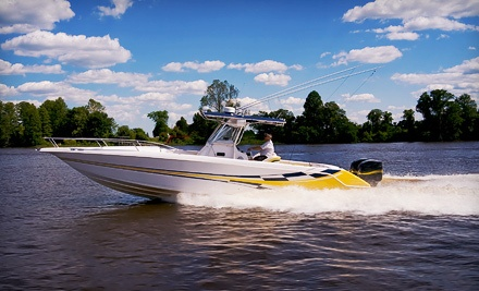 5-Hour Pontoon- or Deck-Boat Rental (a $400 value)  - Making Waves Boat Club in Garland