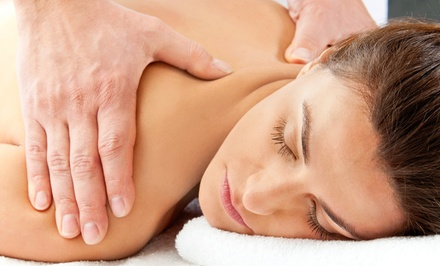 Swedish Massage with Optional Foot Scrub or Facial at Knew Feel (Half Off)
