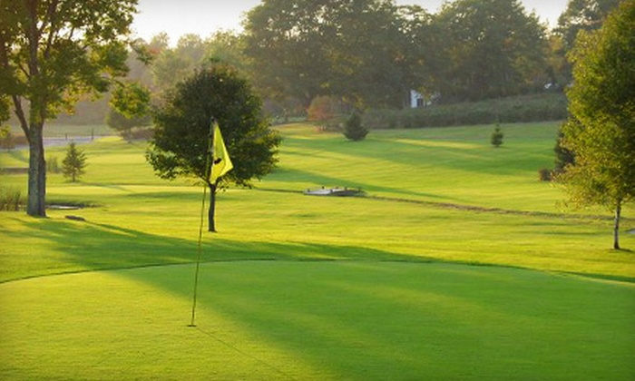 Merriland Farm - Wells: Nine-Hole Round of Golf for Two or Four at Merriland Farm in Wells (Up to 57% Off)