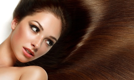 Haircut, Color, and Texturizing Treatments at Creative Designs Hair Studio (Up to 66% Off). Four Options Available.