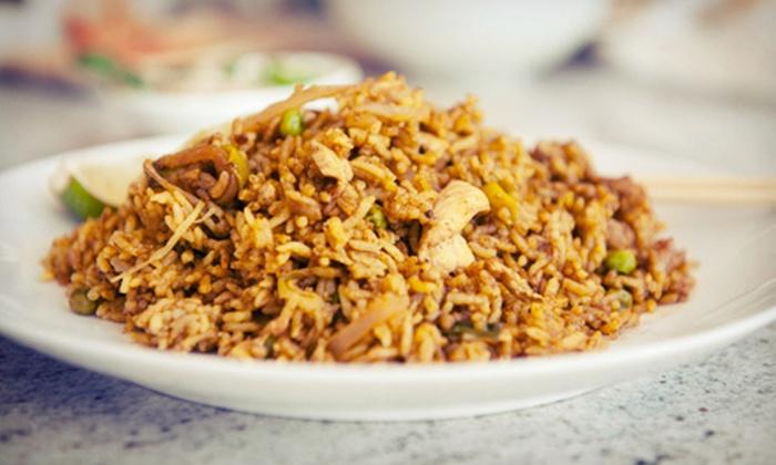 Buddha's Veggie Restaurant - Alyth - Bonnybrook - Manchester: Chinese and Pan-Asian Cuisine at Buddha's Veggie Restaurant (52% Off). Two Options Available.