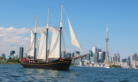 "$14 for a Two-Hour Sail on the Tall Ship ""Kajama"" from Great Lakes Schooner Company (Up to $27.06 Value)"