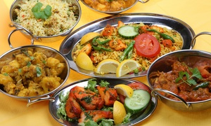 Spices Indian Restaurant: Two-Course Meal For Two or Four at Spices Indian Restaurant (Up to 60% Off)