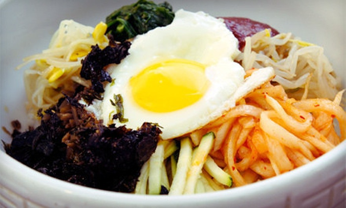 Yeowoosai - West Rogers Park: $20 for $40 Worth of Korean Food and Drinks at Yeowoosai