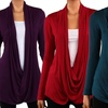 Women's Plus Size Criss-Cross Cardigan