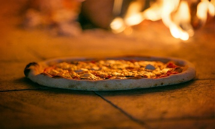 $14 for Two Specialty Pizzas at Bricks Wood Fired Pizza & Cafe (Up to $26 Value)
