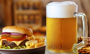O'Loughlin Pub: Irish Pub Food and Drinks for Two or Four at O'Loughlin Pub (40% Off)